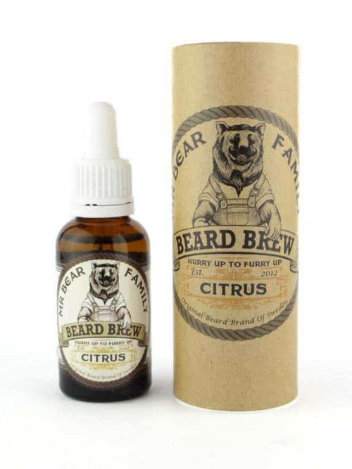 Mr Bear Family Baard Olie Citrus