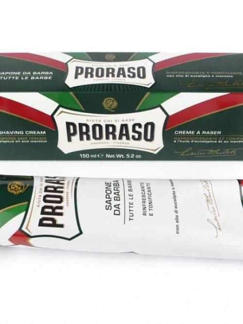 Proraso Groen Scheercrème tube 150ml