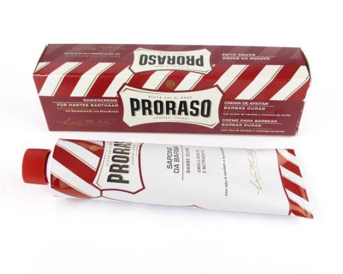 Proraso Rood Scheercrème tube 150ml