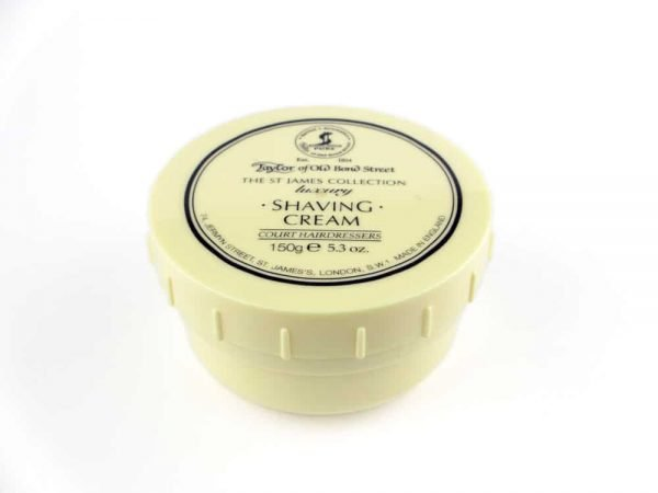 Taylor of Old Bond Street St James Collection scheer crème