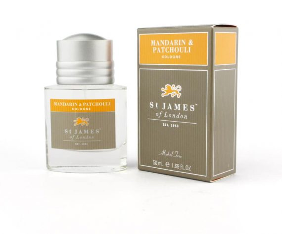 st James of london mandarin en patchouli
