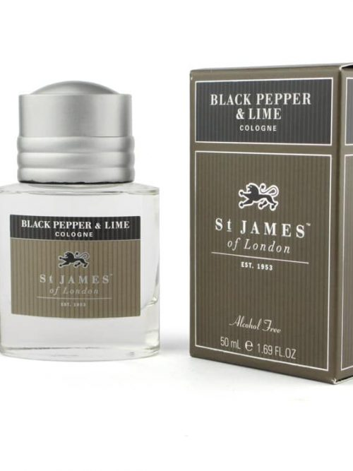 Black peper and Lime Cologne