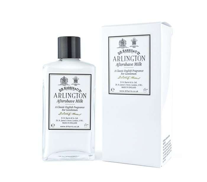 DR Harris & Co. Arlington aftershave milk