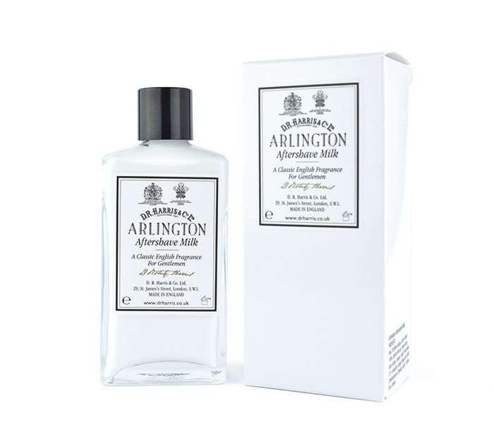 DR Harris & Co. Arlington aftershave milk