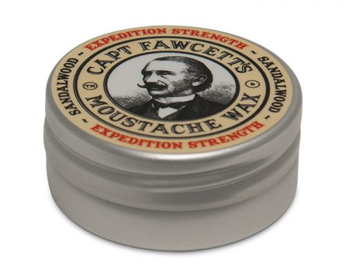 Moustache wax captain fawcett expedition strength