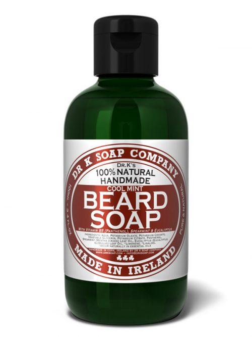Dr K Beard soap cool mint