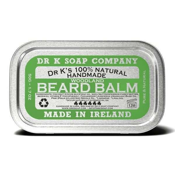 DR K beard balm woodland